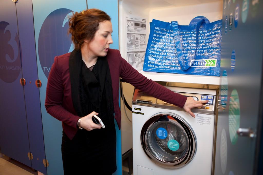 framtidens tvättstuga